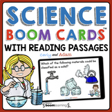 NGSS Science Digital Task Cards + Science Reading Passages Bundle