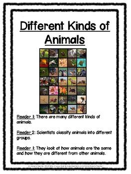 2nd Grade Science Buddy Reading: Animals