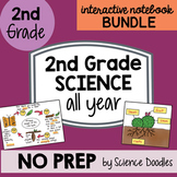 Doodle Notes - 2nd Grade Science Doodles Interactive Notebook Bundle