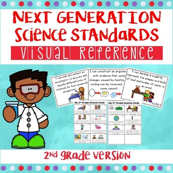 2nd Grade  Science I Can Statements (Next Generation Science Standards)