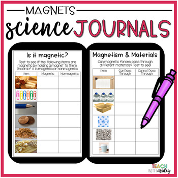 2nd Grade Science Interactive Journals {Magnets}