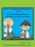 2nd Grade Science Notebook with Experiments and Activities