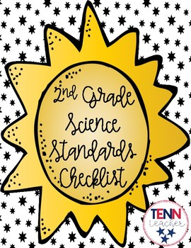 2nd Grade Science Standards Checklist
