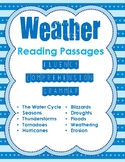 2nd Grade Science Weather Reading Passages for Fluency, Co