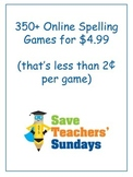 2nd Grade / Second Grade Online Spelling Games and Activities
