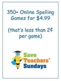 2nd Grade / Second Grade Online Spelling Games and Activities