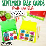 2nd Grade September Task Cards