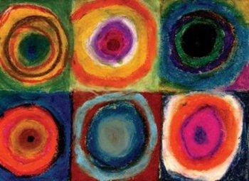 2nd Grade Shape, Line, and Color with Kandinsky