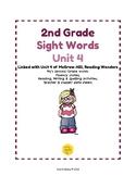 2nd Grade Sight Word Activities Unit 4