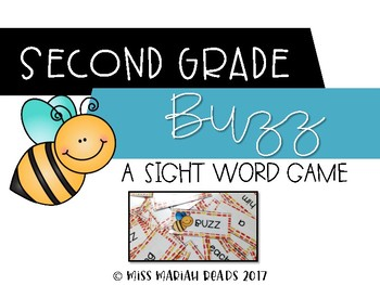 2nd Grade Sight Word BUZZ