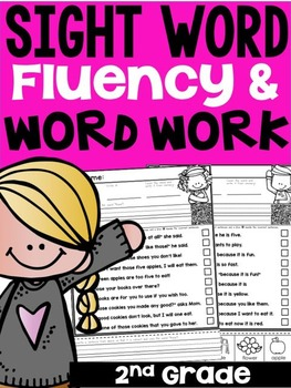 Second Grade Sight Word Fluency and Word Work