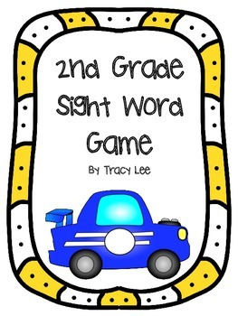 2nd Grade Sight Word Game