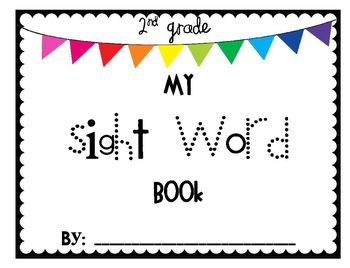 2nd Grade Sight Word Pack - with Power Point Practice Game!