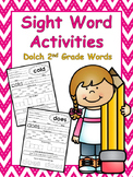 2nd Grade Sight Word Worksheets