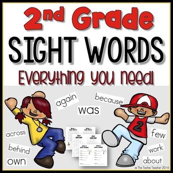 Sight Word Program for 2nd Grade