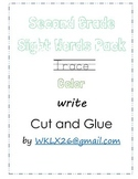 2nd Grade Sight Words Free Pack