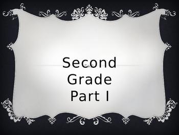2nd Grade Sight Words Part I