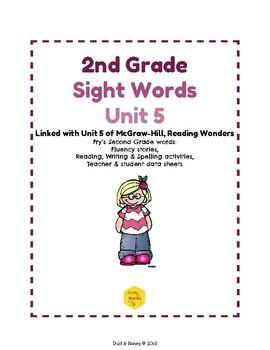 2nd Grade Sight Words Unit 5