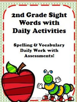 2nd Grade Sight Word Packet with Activities