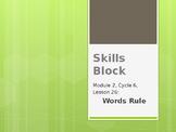 2nd Grade Skills Block - EL Education - Module 2, Cycle 6