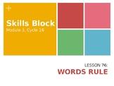 2nd Grade Skills Block - EL Education - Module 3, Cycle 16