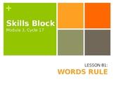 2nd Grade Skills Block - EL Education - Module 3, Cycle 17
