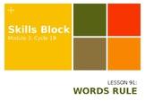 2nd Grade Skills Block - EL Education - Module 3, Cycle 19