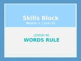 2nd Grade Skills Block - EL Education - Module 4, Cycle 20