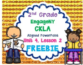 2nd Grade Skills PowerPoint, Unit 4, Lesson 2 (ALIGNED to EngageNY CKLA)*FREEBIE