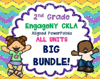 2nd Grade Skills PowerPoints ALL units GROWING BUNDLE! ( EngageNY CKLA ALIGNED)