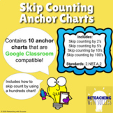2nd Grade Skip Counting Anchor Charts 2.NBT.A.2 (Distance