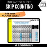 2nd Grade Skip Counting | Google Classroom™ | Distance Learning