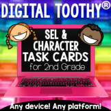 2nd Grade Social Emotional Learning Digital Toothy ® Task