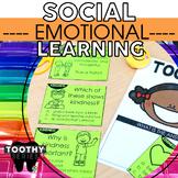 2nd Grade Social Emotional Learning Toothy® Bundle | Social Skills