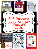 2nd Grade Social Studies ULTIMATE BUNDLE: Rules,Gov.,Econ, Carter, Robinson,King