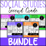 2nd Grade - Social Studies BUNDLE - Whole Year Worksheets