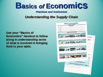 "2nd Grade Social Studies ""Basics of Economics"" - engaging PPT and handouts"