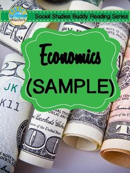 2nd Grade Social Studies Buddy Reading: Economics SAMPLE