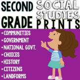 2nd Grade Social Studies Chart Pack