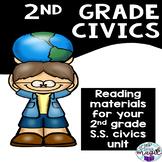 2nd Grade Social Studies Civics Reading Materials