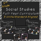 2nd Grade Social Studies Curriculum (Full Year, Standards-Aligned)