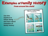 """2nd Grade Social Studies """"Family History"""" - engaging PPT and handouts"""