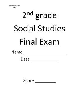 2nd Grade Social Studies Final