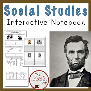 2nd Grade Social Studies Interactive Notebook {AMERICAN HISTORY & MORE}