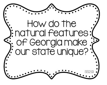 2nd Grade Social Studies Pack - Georgia