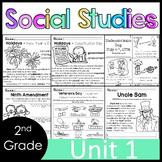2nd Grade - Social Studies - Unit 1 - USA Symbols, Citizenship, Problem Solving