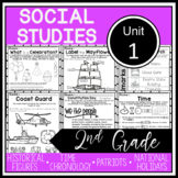 2nd Grade - Social Studies - Unit 1 - Historical Figures, Holidays, Timeline