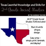 2nd Grade Social Studies TEKS (Texas Essential Knowledge and Skills)