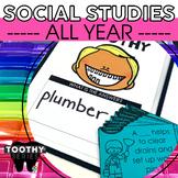2nd Grade Social Studies Toothy® Bundle | Social Studies T