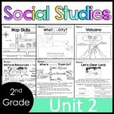 2nd Grade - Social Studies - Unit 2 - Geography, Landforms, Natural Resources